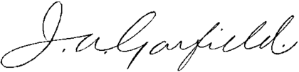 Presidents James A Garfield signature.png