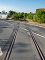Prichsenstadt track and level crossing 4290626.jpg