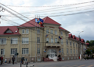 Giurgiu County seat in Romania