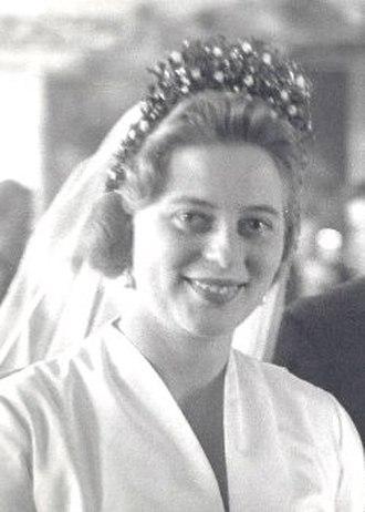 Princess Margarita of Baden - Image: Princess Margarita of Baden