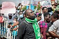 Protesters at the endSARS protest in Lagos, Nigeria 11.jpg