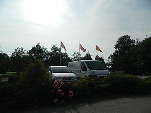 Flag of Scania - Image: Provincial flag of Scania