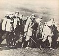 Przegląd I Brygady Legionów Wojska Polskiego przez Józefa Piłsudskiego w Kętach, 1915.jpg