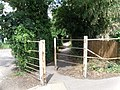 Public Footpath, Brampton Road, Huntingdon - geograph.org.uk - 1425415.jpg