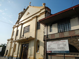 San Isidro Labrador Church Church in Bulacan, Philippines