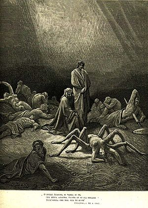 Arachne - Arachne in Gustave Doré's illustration for Dante's Purgatorio.