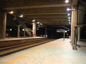 Express Rail Link - Image: Putrajaya ERL Station