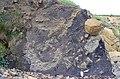 Pyroclastic breccia - geograph.org.uk - 478073.jpg
