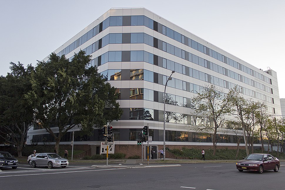 Qantas Building A on the corner of Bourke Road and Coward Street in Mascot (1)