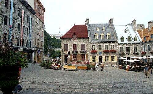 Québec - Place royale 2