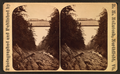 Quechee Gulf and railroad bridge. Height of bridge, 163 ft, by McIntosh, R. M., b. 1823.png