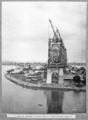 Queensland State Archives 4062 View of progress on south side of river erection stage 4 Brisbane 14 June 1939.png