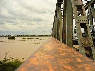 Río Grande (Bolivia) - Río Grande at Puerto Pailas