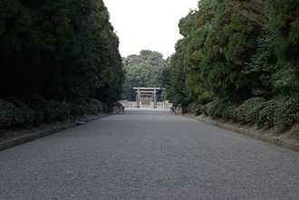 Emperor Jimmu - Unebi Goryō, the mausoleum of Jimmu in Kashihara City, Nara Prefecture
