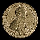 Medaille auf das Toleranzpatent (Johann Christian Reich). (Quelle: Wikimedia)