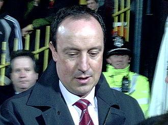 Rafael Benítez - Benítez managing Liverpool in 2005