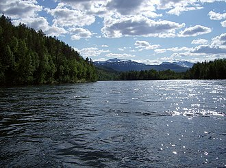 Northern Norway - Målselva is one of the larger rivers; Målselv municipality.