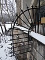 Railing at the north side of Romanesque wing, Vajdahunyad Castle, 2018 Városliget.jpg