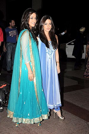Riya Sen - Riya (right) and Raima Sen (left)