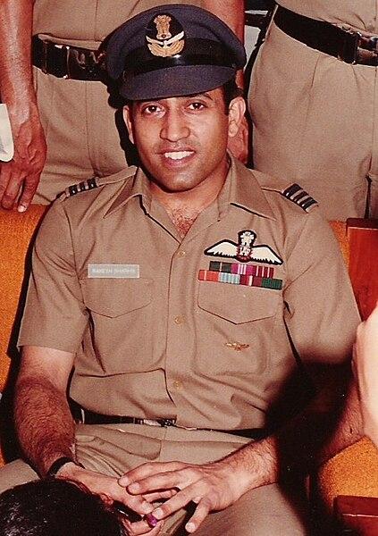 Cosmonaut Rakesh Sharma Source: Wikipedia 423px-Rakesh_sharma.jpg
