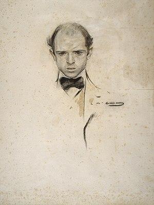 Pablo Casals - A young Pau Casals, by Ramon Casas