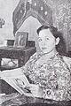 Ratna Ruthinah reading Film Varia May 1954 p5.jpg