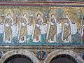 Ravenna, sant'apollinare nuovo, int., sante vergini offerenti, epoca del vescovo agnello, 01.JPG