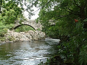 River Duddon - Rawfold Bridge on the Duddon