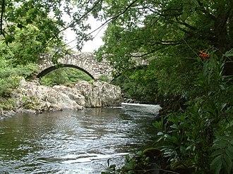 River Duddon - Rawfold Bridge on the Duddon