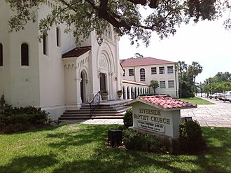 Riverside Baptist Church - Image: Rbcfromparkandking
