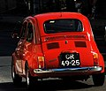 Red Fiat Cinquecento in Lisbon.jpg