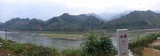 China–Vietnam border Separates the territories of border between Vietnam and China