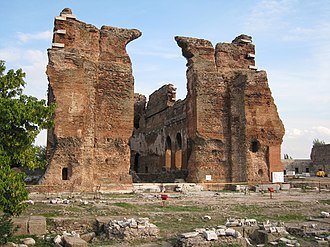 Red Basilica - Image: Red basilica west view
