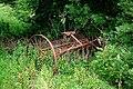 Redundant hay-rake west of Barry Hill - geograph.org.uk - 256103.jpg