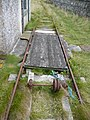Redundant railway line on Ailsa Craig - geograph.org.uk - 1444559.jpg