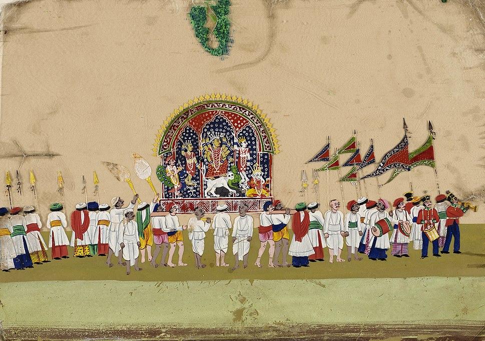 Religious Procession- Durga LACMA 37.28.19