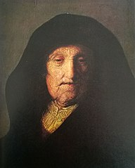 Bust of an old woman (Rembrandt's mother)