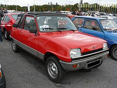 Une Renault 5 LM Sovra