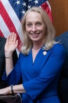 Representative Mary Gay Scanlon Sworn into Office (cropped2).jpg