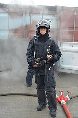 Republic of Korea firefighter Yang Jae-young International Fire Instructors Workshop (PIVO)2