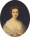 Retrato da rainha D. Maria Pia (1865-68) - Michele Gordigiani (Palácio Nacional da Ajuda, Inv. 2390).png