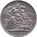 Reverse crown 1891, Great Britain, Victoria.jpg