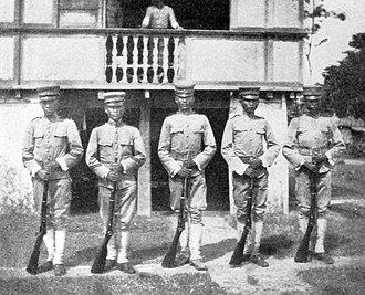 Philippine Constabulary - Philippine Constabulary in 1910