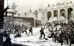 Revuelta en Barcelona en 1842