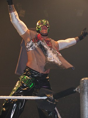 Rey de Reyes (2015) - Rey Mysterio Jr., made his AAA return in the main event.