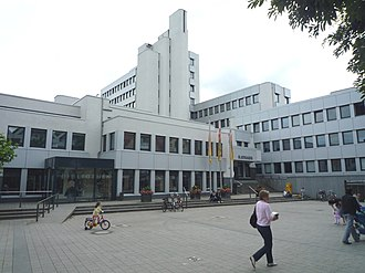 Rheda-Wiedenbrück - Renovated city hall with city library in Rheda