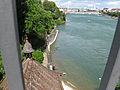 Rhine in Basel seen from a bridge 2.jpg