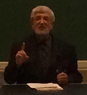 Richard Taruskin - Richard Taruskin delivering keynote at European Music Analysis Conference in 2014