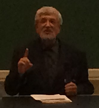 Richard Taruskin - Richard Taruskin delivering keynote at European Music Analysis Conference in 2014