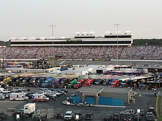 Richmond Raceway - Richmond International Raceway as seen from the stands.